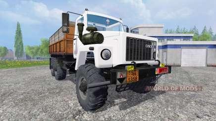 GAZ-3309 6x6 for Farming Simulator 2015