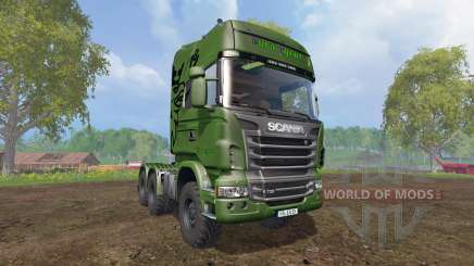 Scania R730 [euro farm] v0.9.6 for Farming Simulator 2015