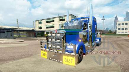 Kenworth W900L [customs] for Euro Truck Simulator 2