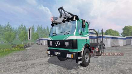 Mercedes-Benz SK 1935 [forest] v1.2 for Farming Simulator 2015