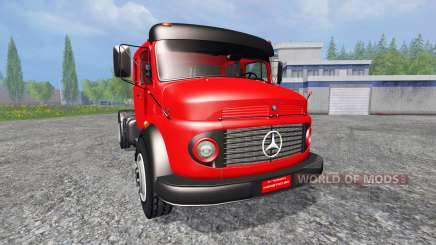 Mercedes-Benz 1519 v2.0 for Farming Simulator 2015