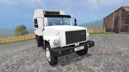 ГАЗ-4732 [John Deere Service] for Farming Simulator 2015