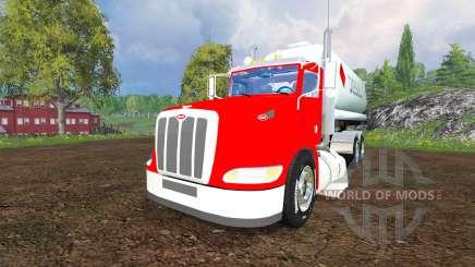 Peterbilt 384 [tanks] for Farming Simulator 2015