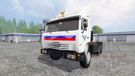 KamAZ 54115 v1.1 for Farming Simulator 2015
