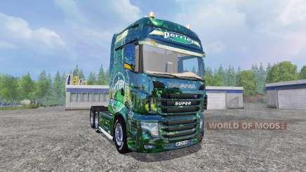 Scania R700 [perrier] for Farming Simulator 2015
