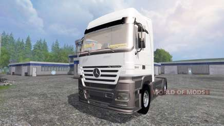 Mercedes-Benz Actros 1844 for Farming Simulator 2015