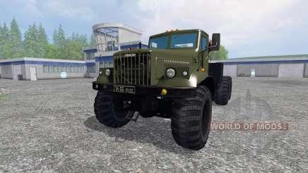 KrAZ-255 B1 for Farming Simulator 2015