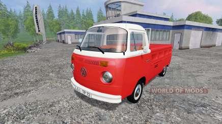 Volkswagen Transporter T2B 1972 for Farming Simulator 2015