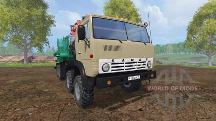KamAZ-6350 [JENZ] for Farming Simulator 2015
