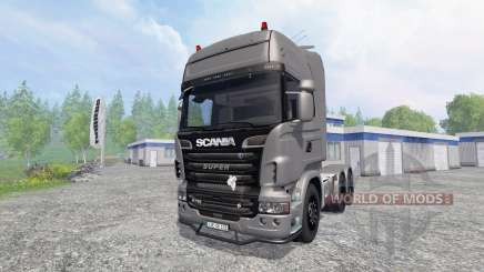 Scania R730 [Silver] v3.1 for Farming Simulator 2015