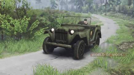 GAZ-67 [08.11.15] for Spin Tires