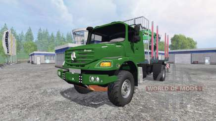 Mercedes-Benz Zetros 1833 [forest] v0.9 for Farming Simulator 2015