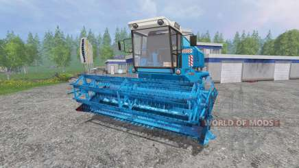 Bizon Z058 [record blue] for Farming Simulator 2015