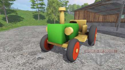 Wooden tractor for Farming Simulator 2015