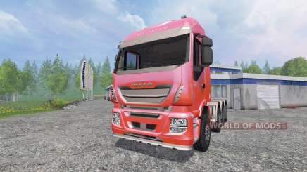 Iveco Stralis 560 8x4 v1.5 for Farming Simulator 2015