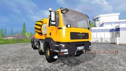 MAN TGA 28.430 [mixer] for Farming Simulator 2015