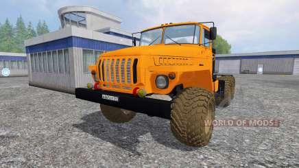 Ural-4320 [tractor] v3.0 for Farming Simulator 2015