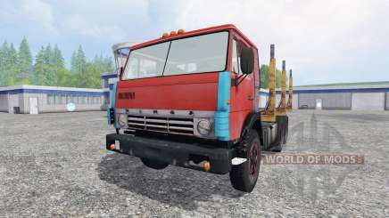 KamAZ 55102 [timber] for Farming Simulator 2015