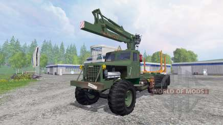 KrAZ-255 B1 [timber] v2.5 for Farming Simulator 2015