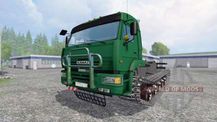 KamAZ-5460 [crawler] for Farming Simulator 2015