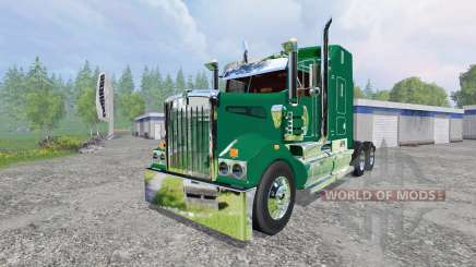 Kenworth T908 [John Deere] for Farming Simulator 2015