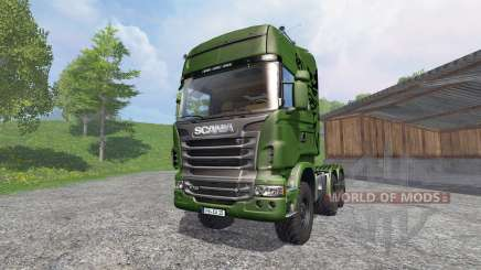 Scania R730 [euro farm] v1.2 for Farming Simulator 2015