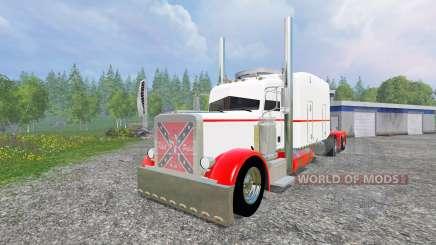 Peterbilt 359 [long haul] for Farming Simulator 2015