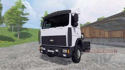 MAZ-5432 [white] for Farming Simulator 2015