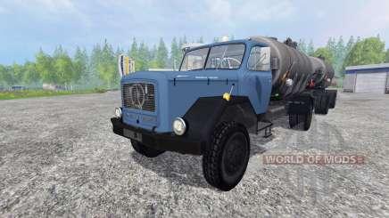 Magirus-Deutz 200D26 1964 [tanker] for Farming Simulator 2015