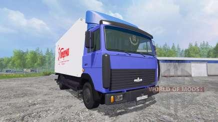 MAZ-4370 [van] for Farming Simulator 2015
