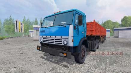 KamAZ-5410 [trailer] for Farming Simulator 2015