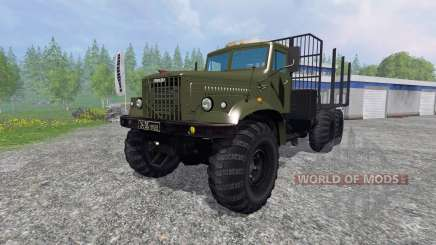 KrAZ-255 B1 [timber] for Farming Simulator 2015