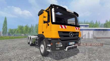 Mercedes-Benz Actros MP3 HKL for Farming Simulator 2015