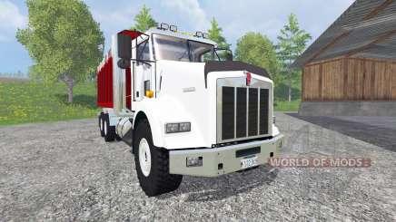 Kenworth T800 [dump] v2.0 for Farming Simulator 2015