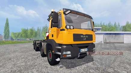 MAN TGA 28.430 [palfinger] for Farming Simulator 2015