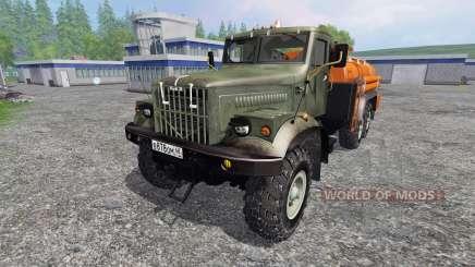 KrAZ-255 B1 6x6 [fuel] for Farming Simulator 2015