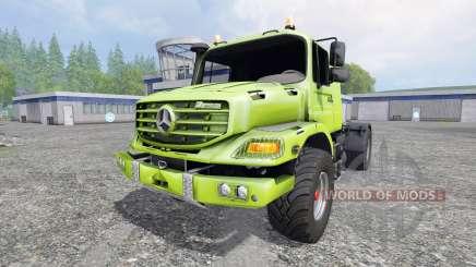 Mercedes-Benz Zetros 1833 for Farming Simulator 2015