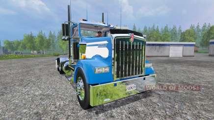 Kenworth W900L 2004 [day cab] for Farming Simulator 2015