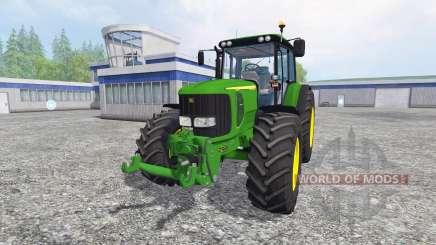 John Deere 6520 for Farming Simulator 2015