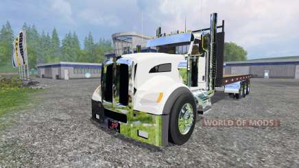Kenworth T440 [flatbed] for Farming Simulator 2015