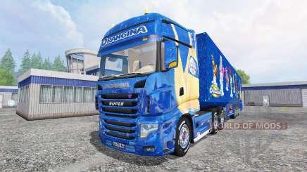 Scania R700 [Orangina] for Farming Simulator 2015