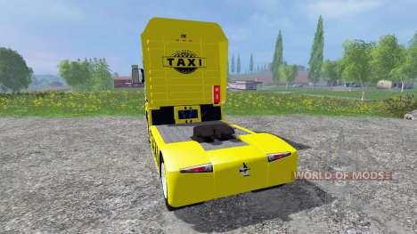 Renault Magnum [taxi] for Farming Simulator 2015