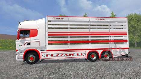 Scania R730 [cattle] v1.5 for Farming Simulator 2015