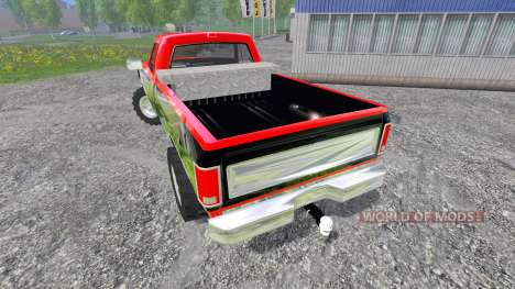 Dodge D-250 v1.1 for Farming Simulator 2015