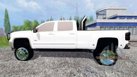 GMC Sierra 3500 2014 for Farming Simulator 2015