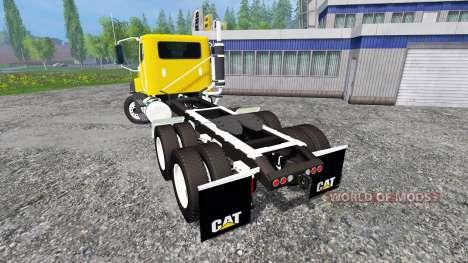 Caterpillar CT660 v1.0 for Farming Simulator 2015