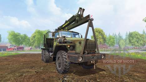 Ural-4320 [Forester] for Farming Simulator 2015