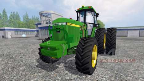 John Deere 4960 4WD FL for Farming Simulator 2015