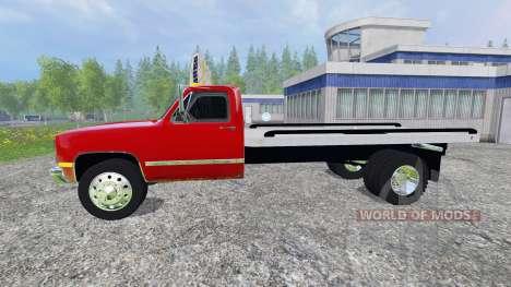 GMC 3500 1986 for Farming Simulator 2015