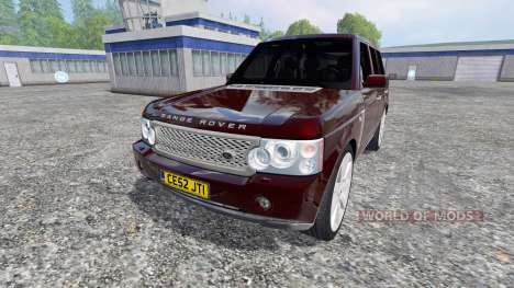 Range Rover Supercharged 4WD for Farming Simulator 2015